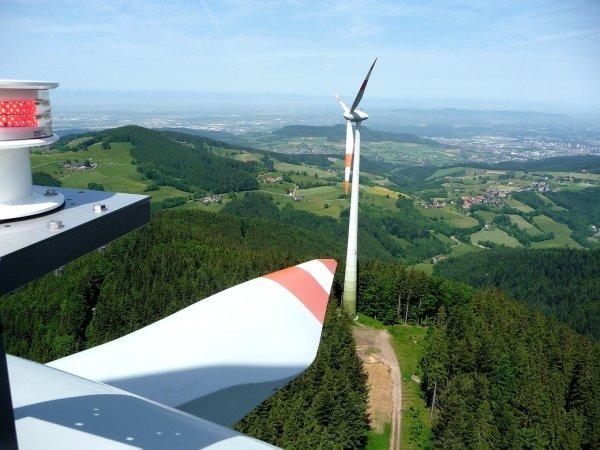 Windräder zur Erzeugung von Ökostrom