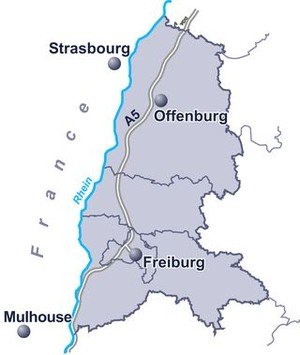 Karte RVSO